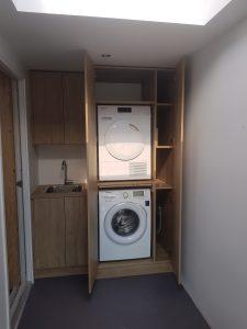 Wasmachinekast op maat